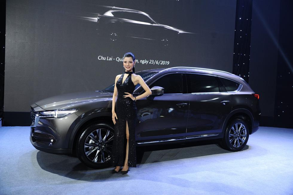 Thaco ra mắt mẫu xe Mazda CX-8, giá từ 1,149 tỉ đồng - Ảnh 4.