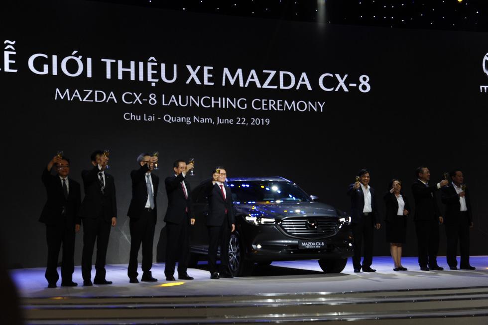 Thaco ra mắt mẫu xe Mazda CX-8, giá từ 1,149 tỉ đồng - Ảnh 5.