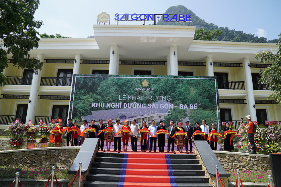 Saigontourist khai trương khu nghỉ dưỡng Sài Gòn - Ba Bể - Ảnh 1.