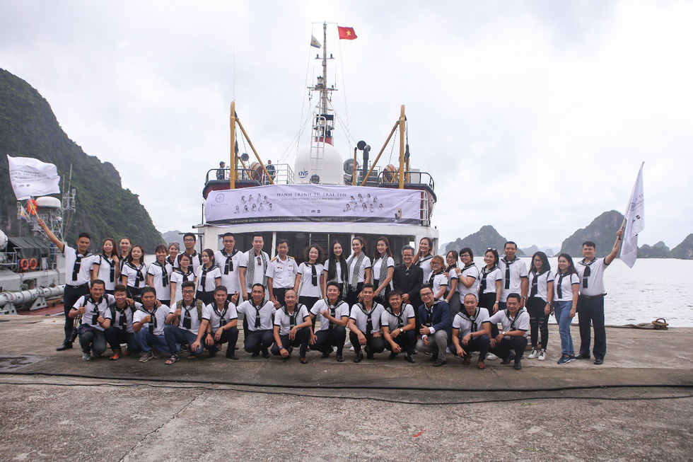 Hành trình Từ trái tim: Trao gửi khát vọng lớn đến thanh niên vùng biển đảo - Ảnh 4.