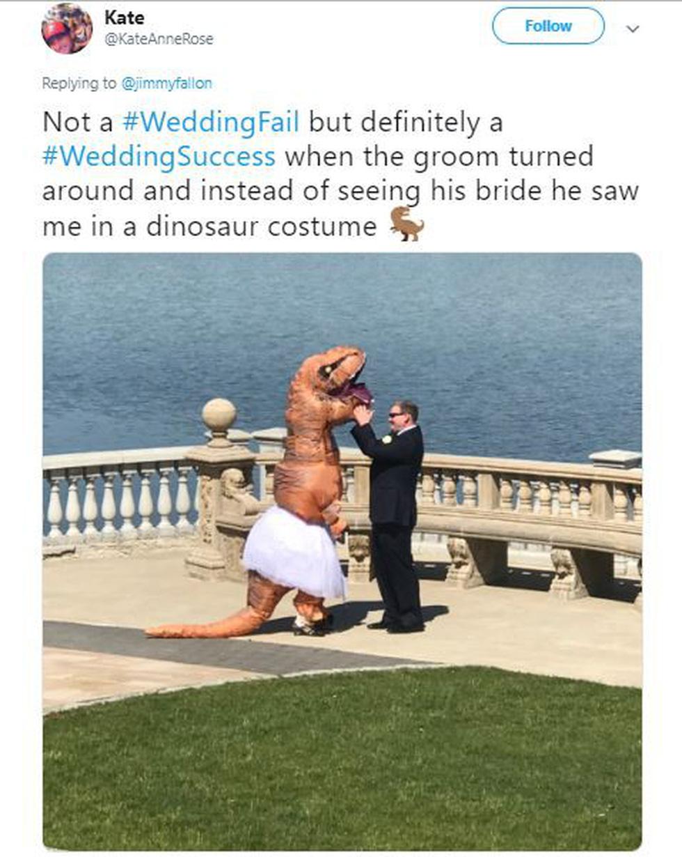 Không nhịn được cười với những đám cưới thất bại - Ảnh 3.