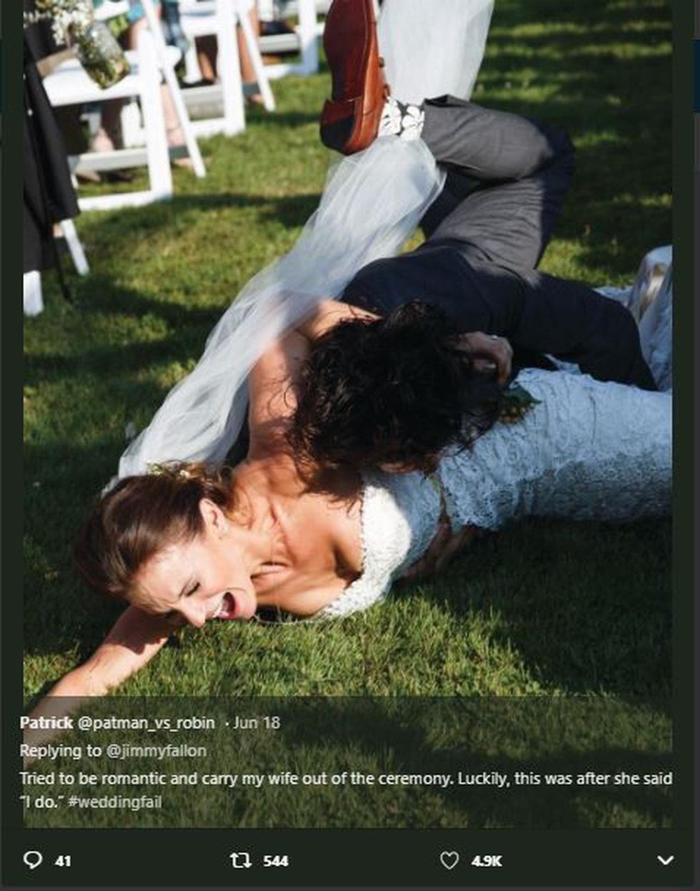 Không nhịn được cười với những đám cưới thất bại - Ảnh 4.