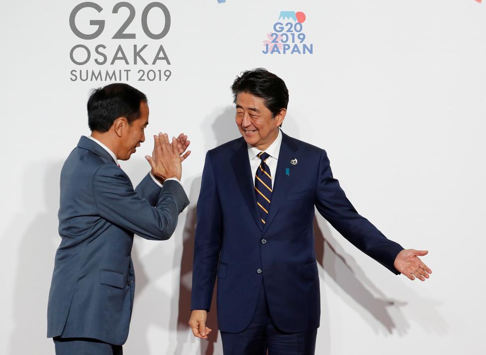 Tiết lộ hậu trường chụp ảnh gia đình G20 ở Osaka - Ảnh 9.