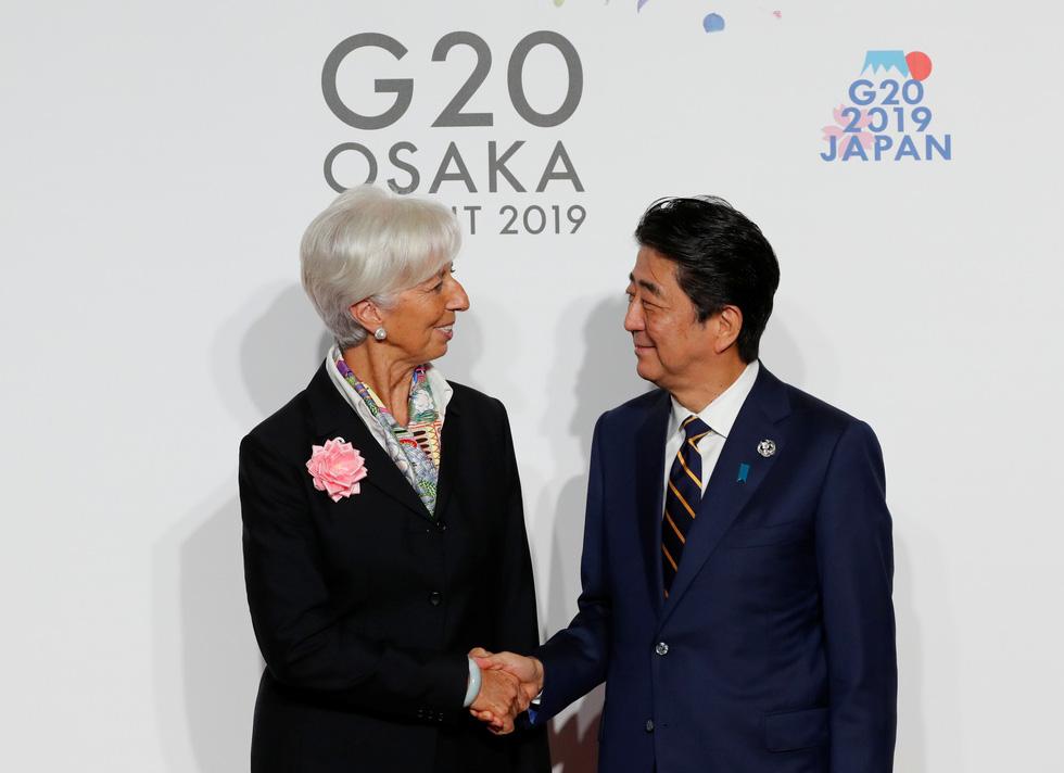 Tiết lộ hậu trường chụp ảnh gia đình G20 ở Osaka - Ảnh 3.