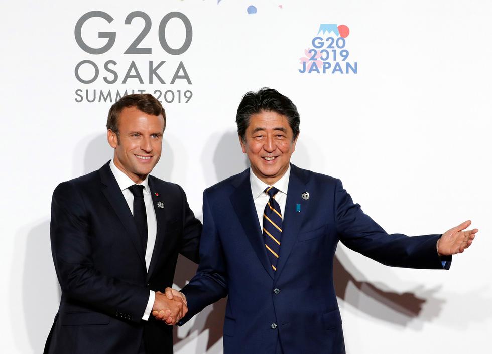 Tiết lộ hậu trường chụp ảnh gia đình G20 ở Osaka - Ảnh 7.