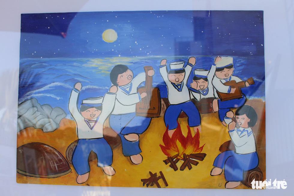 Ước mơ xúc động của trẻ em qua tranh vẽ Hoàng Sa, Trường Sa - Ảnh 20.