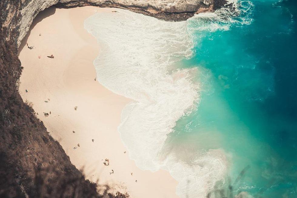 Thổn thức cùng sắc xanh trời biển của Nusa Penida - Ảnh 3.
