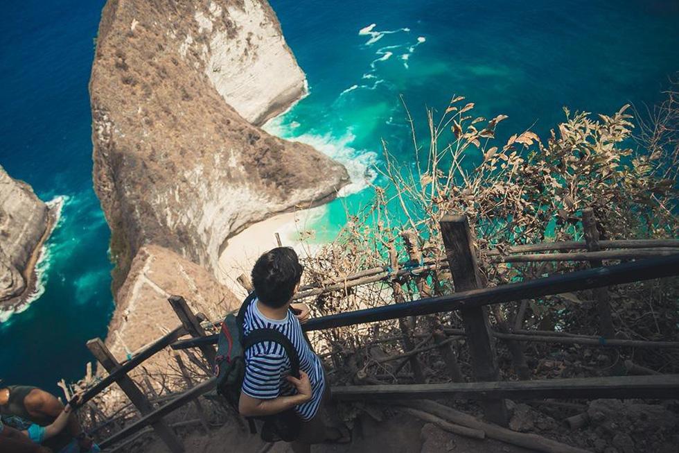 Thổn thức cùng sắc xanh trời biển của Nusa Penida - Ảnh 4.