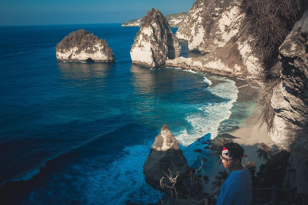 Thổn thức cùng sắc xanh trời biển của Nusa Penida - Ảnh 9.