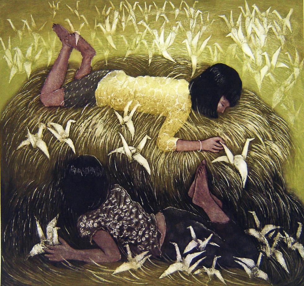 20 bức tranh Việt của Phố Bên Đồi đến Hà Lan tham gia triển lãm - Ảnh 5.