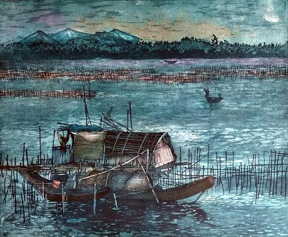 20 bức tranh Việt của Phố Bên Đồi đến Hà Lan tham gia triển lãm - Ảnh 6.