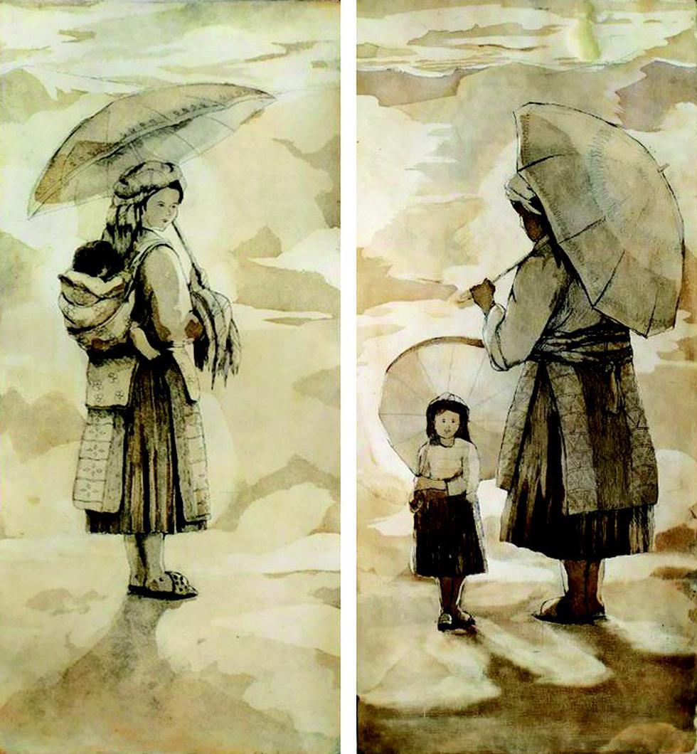 20 bức tranh Việt của Phố Bên Đồi đến Hà Lan tham gia triển lãm - Ảnh 7.