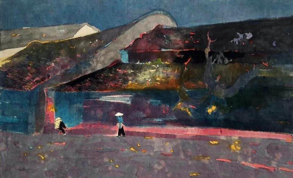 20 bức tranh Việt của Phố Bên Đồi đến Hà Lan tham gia triển lãm - Ảnh 3.