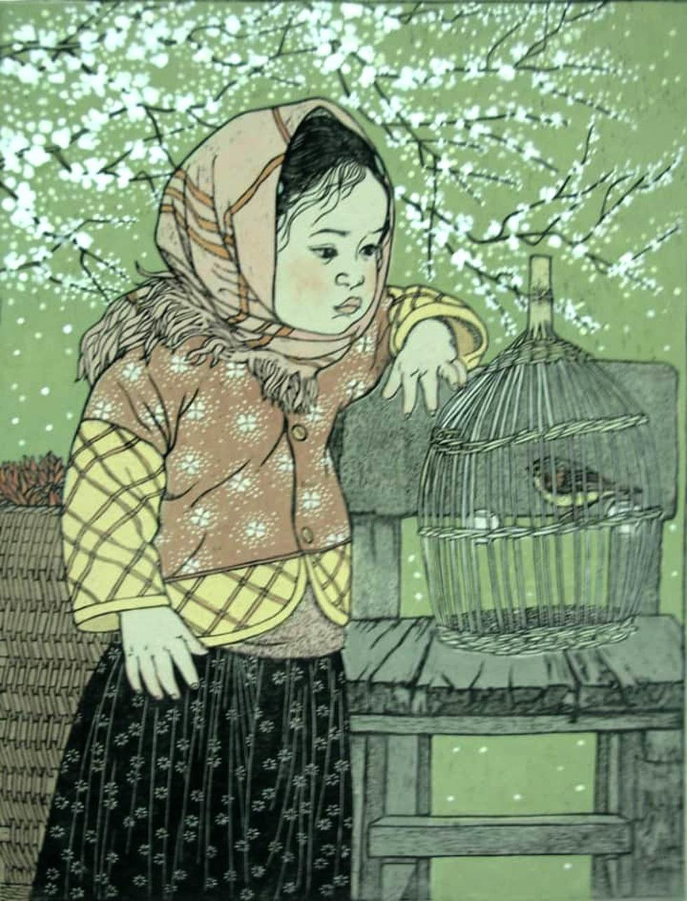 20 bức tranh Việt của Phố Bên Đồi đến Hà Lan tham gia triển lãm - Ảnh 12.