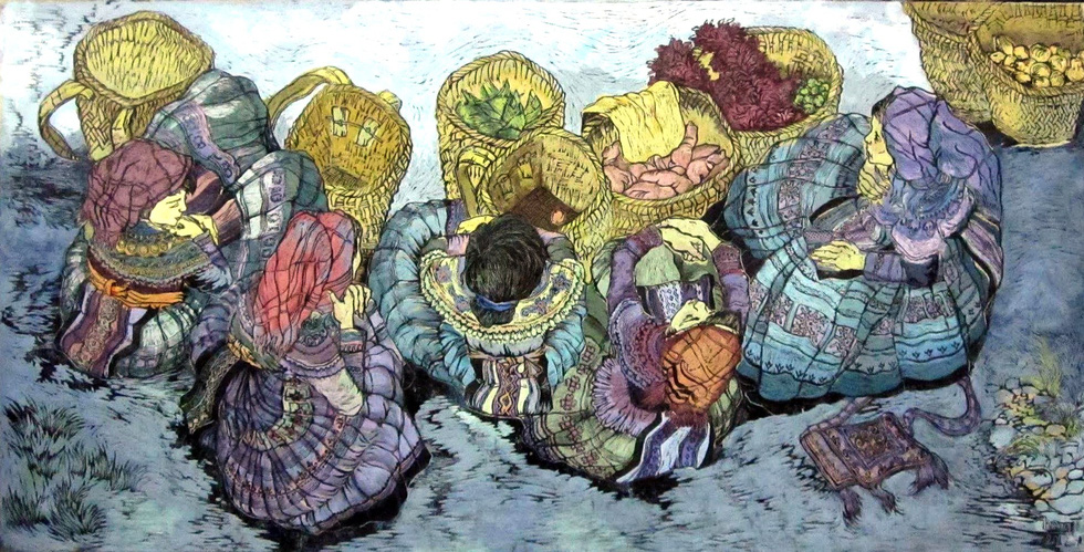 20 bức tranh Việt của Phố Bên Đồi đến Hà Lan tham gia triển lãm - Ảnh 14.