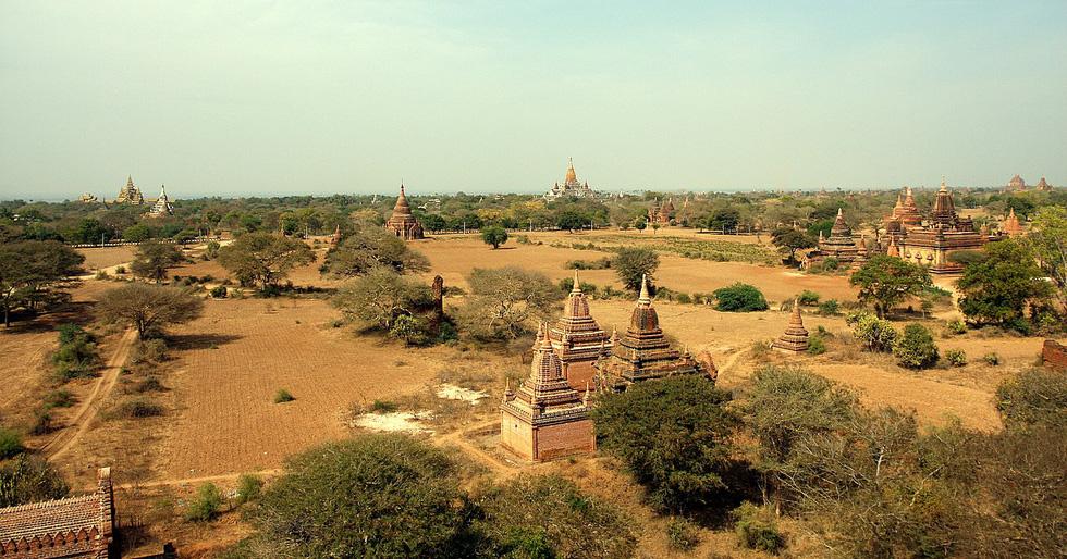 Những ngôi đền ngạo nghễ với thời gian ở cố đô Bagan - Ảnh 1.