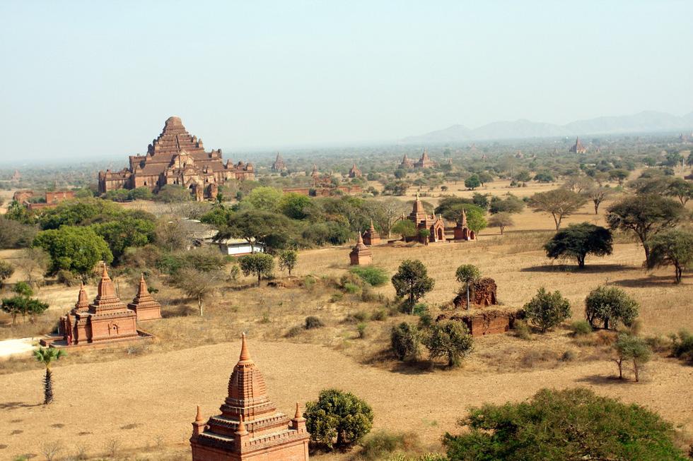 Những ngôi đền ngạo nghễ với thời gian ở cố đô Bagan - Ảnh 2.