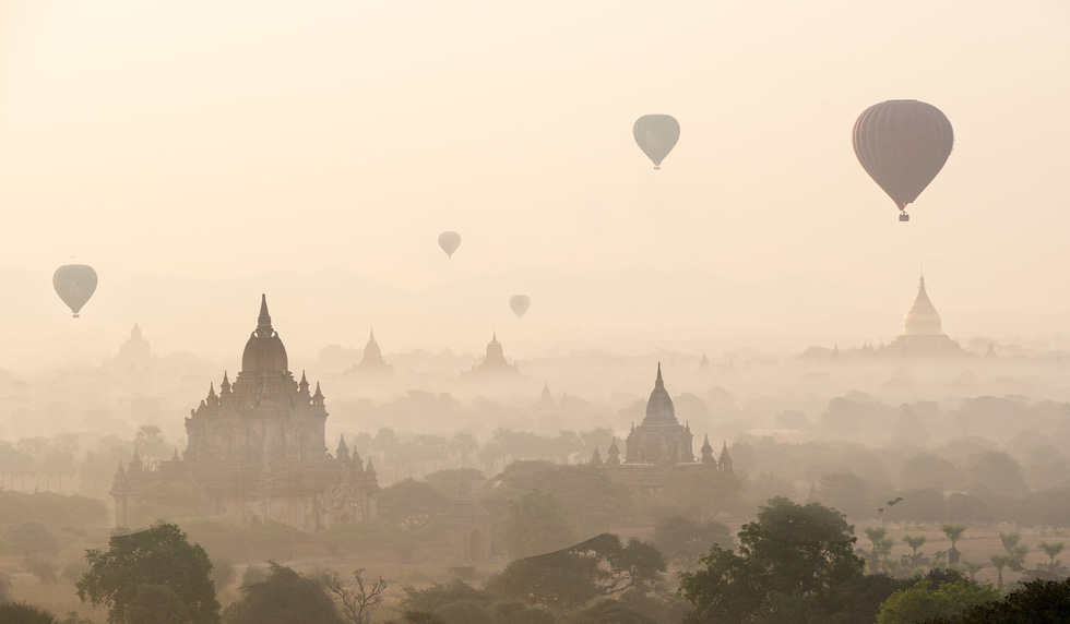 Những ngôi đền ngạo nghễ với thời gian ở cố đô Bagan - Ảnh 6.