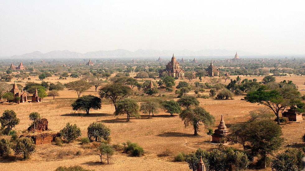 Những ngôi đền ngạo nghễ với thời gian ở cố đô Bagan - Ảnh 10.