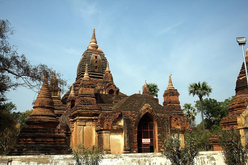 Những ngôi đền ngạo nghễ với thời gian ở cố đô Bagan - Ảnh 11.