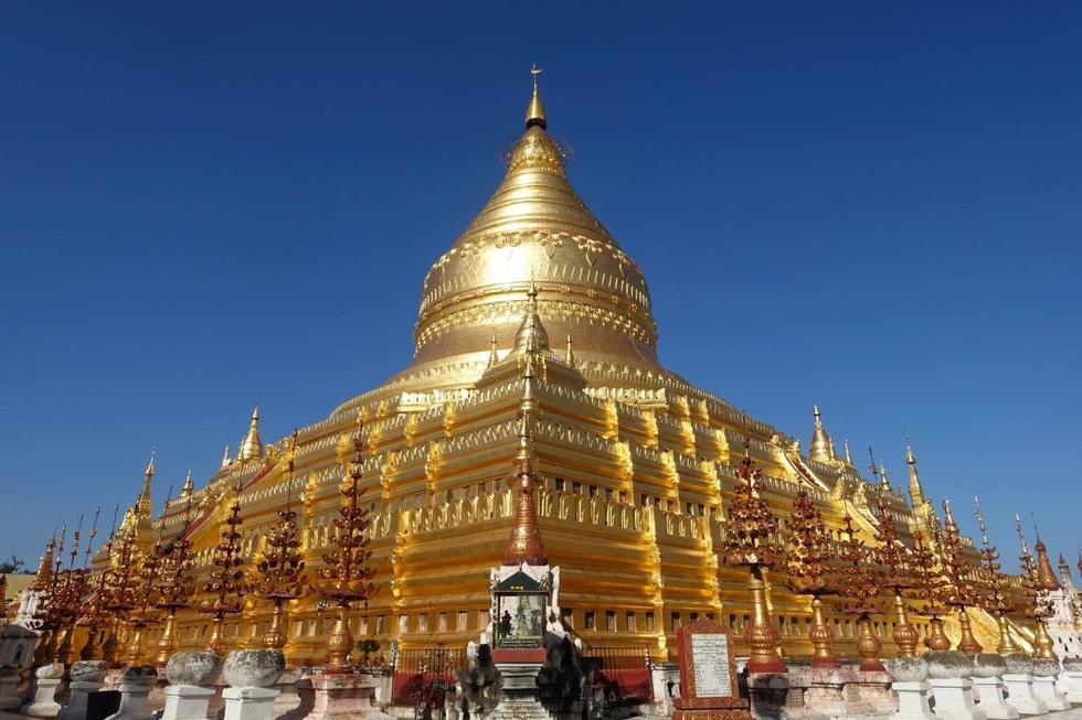 Những ngôi đền ngạo nghễ với thời gian ở cố đô Bagan - Ảnh 13.