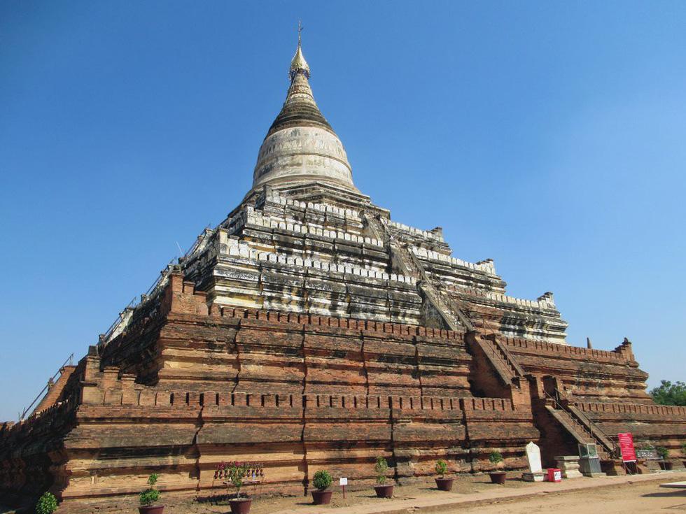 Những ngôi đền ngạo nghễ với thời gian ở cố đô Bagan - Ảnh 14.