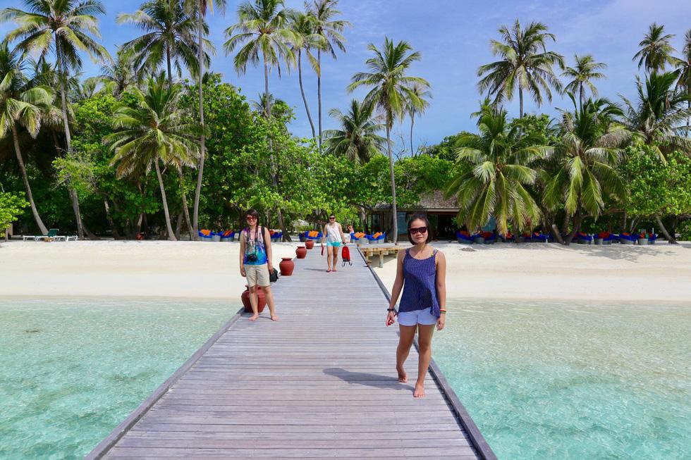 Đi bụi đến thiên đường Maldives - Ảnh 6.