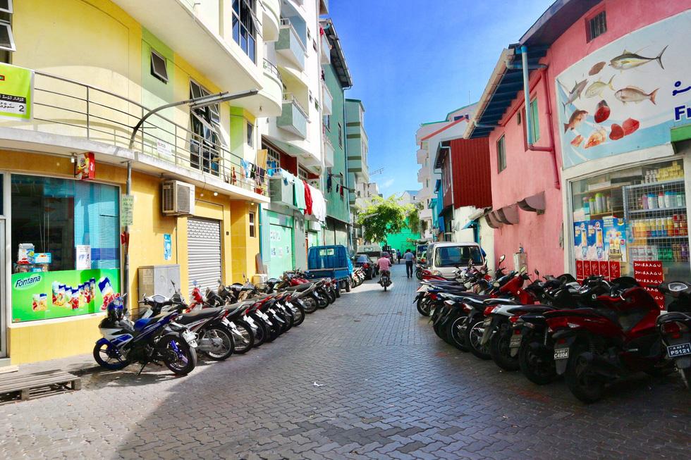 Đi bụi đến thiên đường Maldives - Ảnh 2.