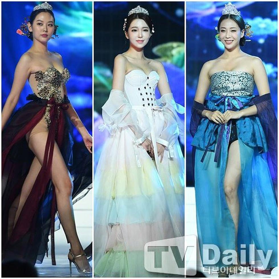 Miss Korea 2019 bị dân mạng Hàn phản ứng dữ dội: Giống áo ngực hơn hanbok - Ảnh 1.