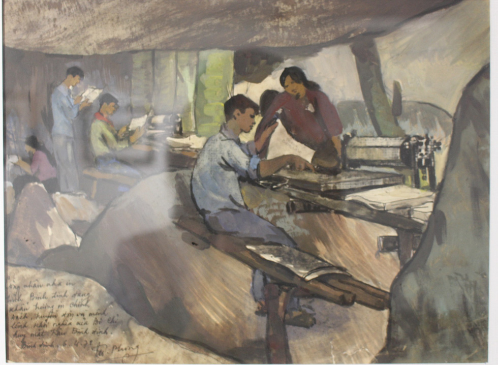 Xem ký họa Ký ức chiến trường của liệt sĩ - họa sĩ Hà Xuân Phong - Ảnh 8.