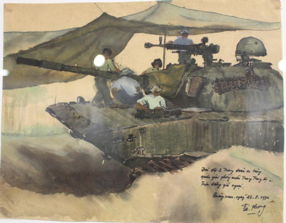 Xem ký họa Ký ức chiến trường của liệt sĩ - họa sĩ Hà Xuân Phong - Ảnh 10.