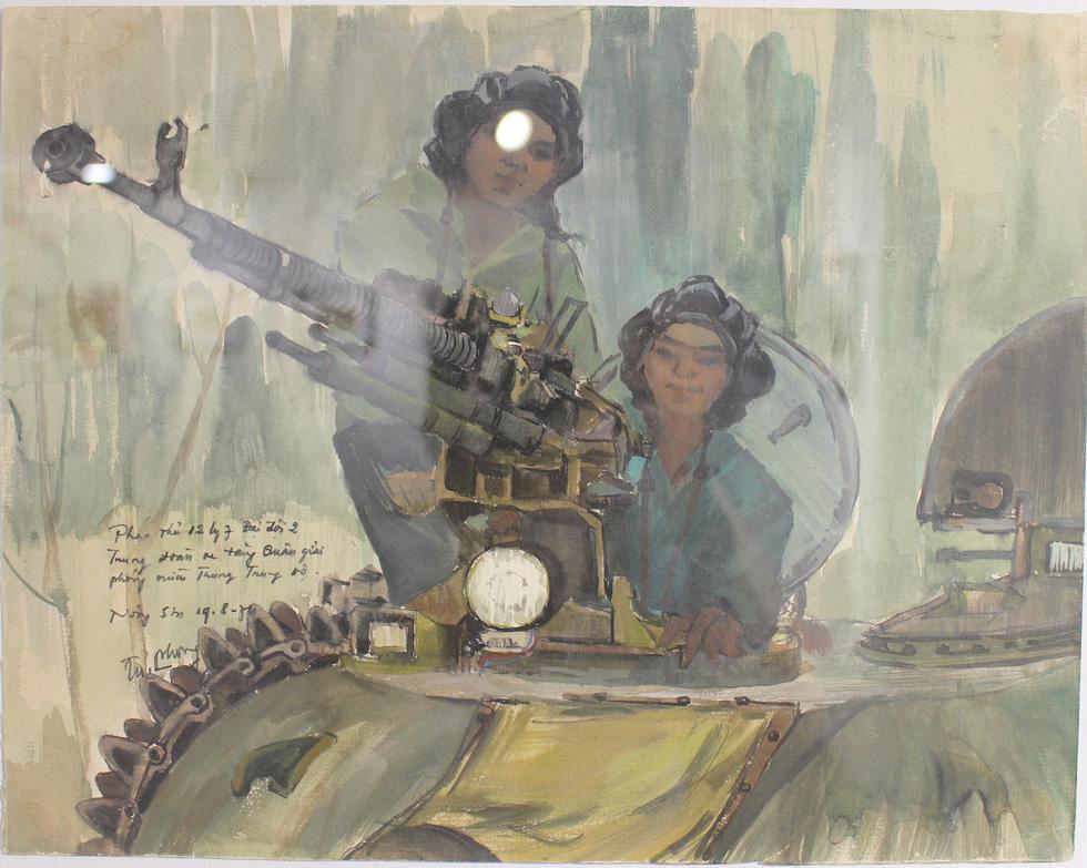 Xem ký họa Ký ức chiến trường của liệt sĩ - họa sĩ Hà Xuân Phong - Ảnh 11.