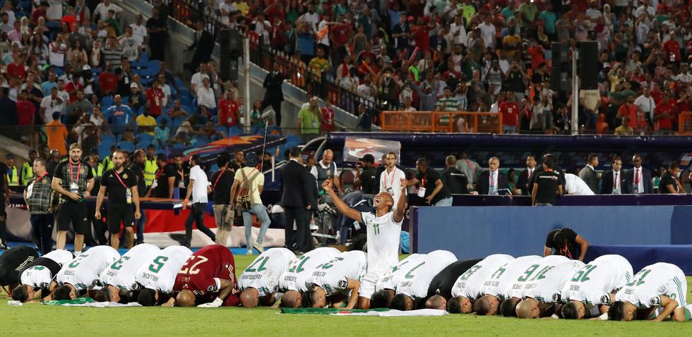 Algeria ăn mừng trong phấn khích sau khi lên ngôi vô địch CAN 2019 - Ảnh 3.
