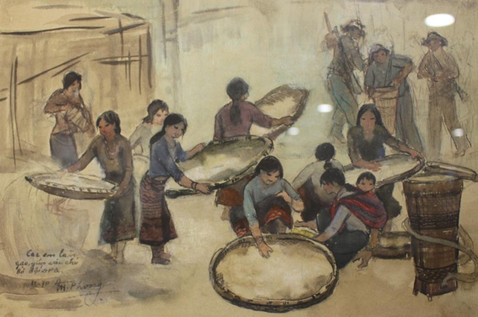 Xem ký họa Ký ức chiến trường của liệt sĩ - họa sĩ Hà Xuân Phong - Ảnh 13.