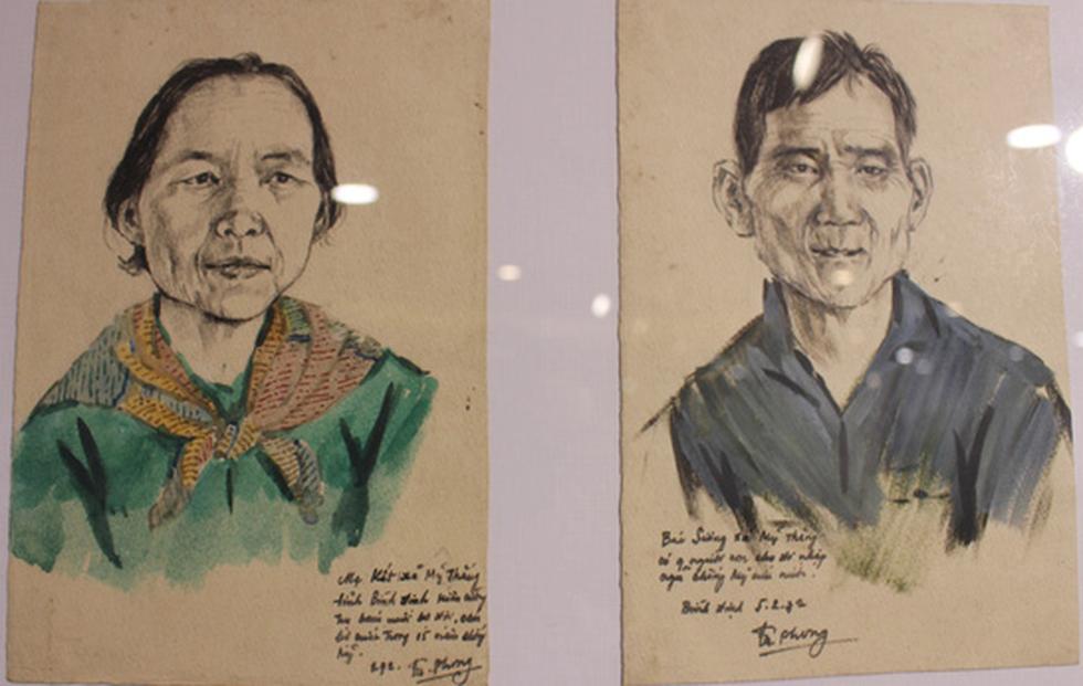 Xem ký họa Ký ức chiến trường của liệt sĩ - họa sĩ Hà Xuân Phong - Ảnh 15.