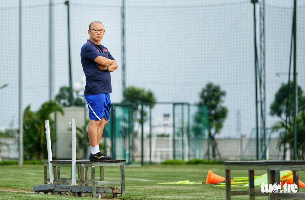 HLV Park Hang-seo hướng dẫn U22 Việt Nam chuẩn bị SEA Games 30 - Ảnh 7.
