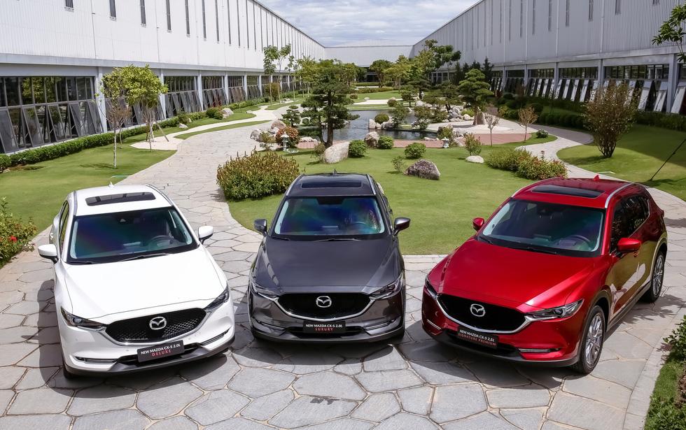 Mazda CX-5 năm chỗ thế hệ mới giá từ 899 triệu có gì? - Ảnh 2.