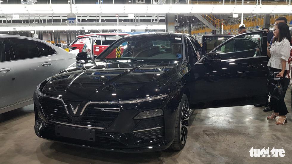 Lô xế sang đầu tiên của VinFast chính thức đến tay khách hàng - Ảnh 2.