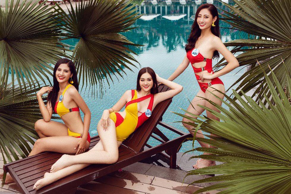 Nóng với bộ ảnh bikini của thí sinh Hoa hậu Thế giới Việt Nam - Ảnh 1.