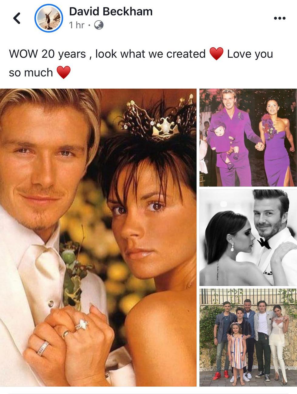 Beckham tự hào 20 năm một vợ bốn con, hạnh phúc với Victoria - Ảnh 2.