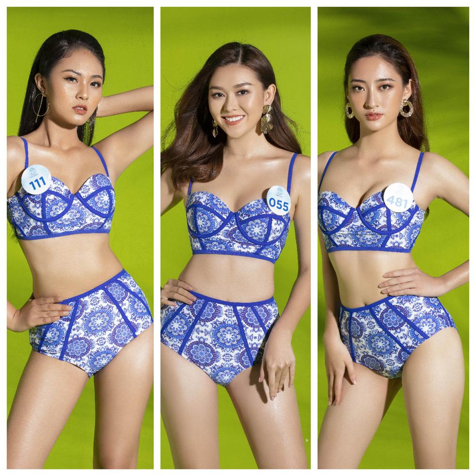 34 thí sinh Miss World Việt Nam 2019 trong trang phục bikini... kín đáo - Ảnh 2.