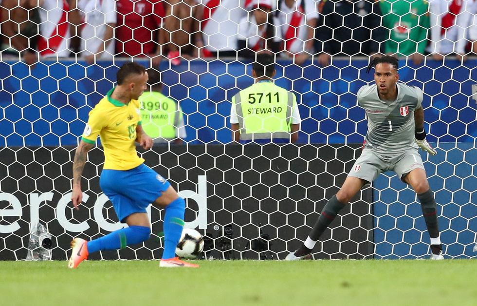 Tuyển Brazil tưng bừng mừng ngôi vương ở Copa America 2019 - Ảnh 1.
