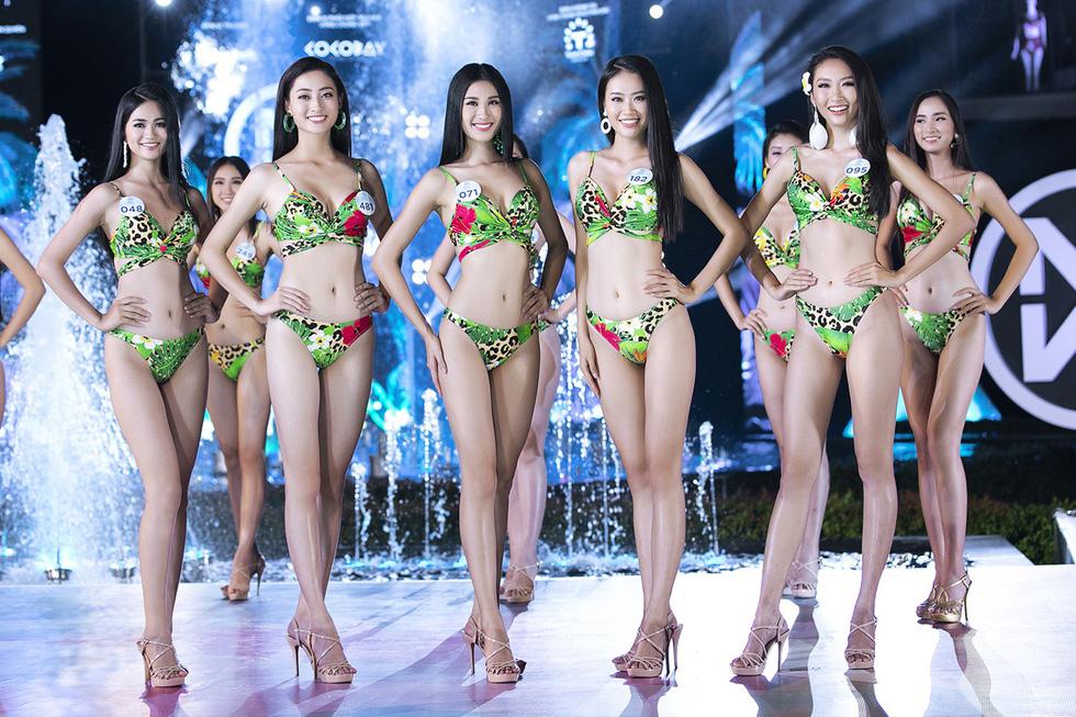 Đã chọn được 5 cô gái mặc bikini đẹp nhất Hoa hậu thế giới Việt Nam 2019 - Ảnh 1.