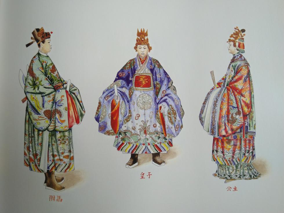 Trăm năm lưu lạc của bộ tranh quý Đại lễ phục triều Nguyễn - Ảnh 5.
