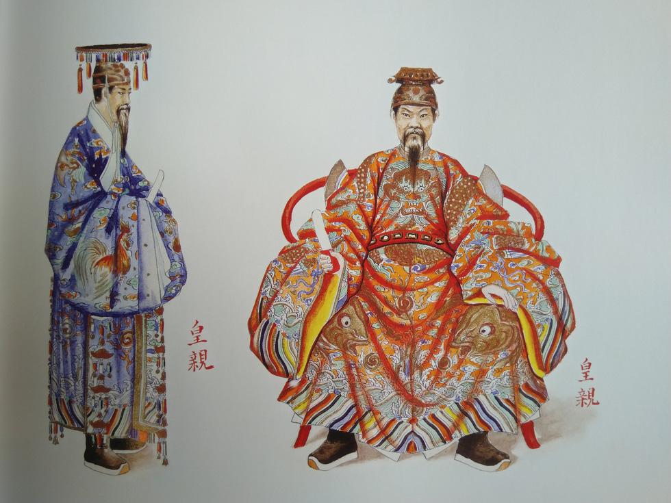 Trăm năm lưu lạc của bộ tranh quý Đại lễ phục triều Nguyễn - Ảnh 6.