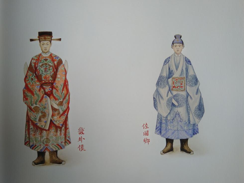 Trăm năm lưu lạc của bộ tranh quý Đại lễ phục triều Nguyễn - Ảnh 9.