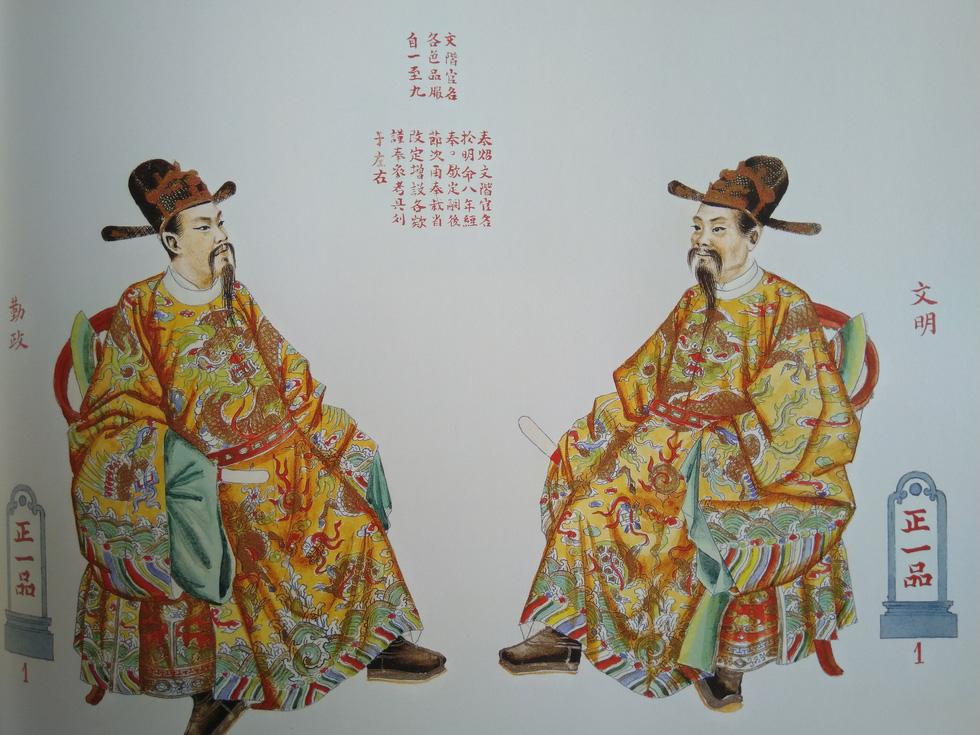 Trăm năm lưu lạc của bộ tranh quý Đại lễ phục triều Nguyễn - Ảnh 11.