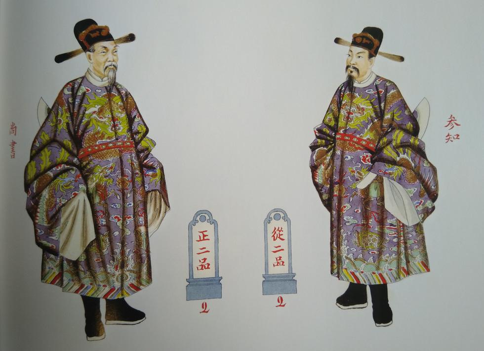 Trăm năm lưu lạc của bộ tranh quý Đại lễ phục triều Nguyễn - Ảnh 12.