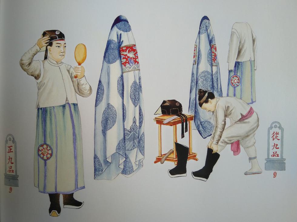 Trăm năm lưu lạc của bộ tranh quý Đại lễ phục triều Nguyễn - Ảnh 13.