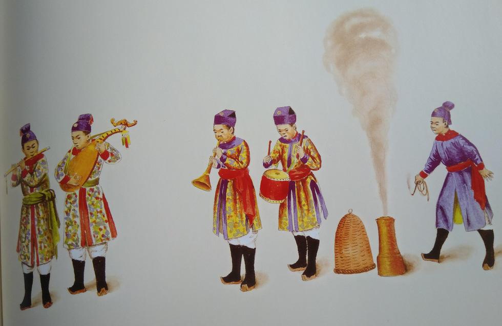 Trăm năm lưu lạc của bộ tranh quý Đại lễ phục triều Nguyễn - Ảnh 14.